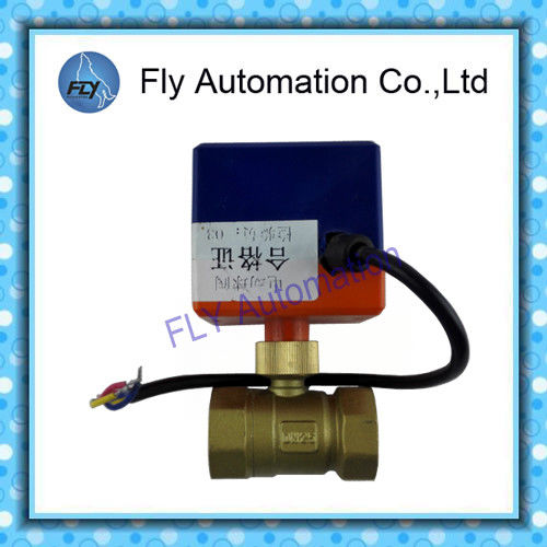 "BV2011S two position solenoid ball valve DN25 G1"" Synchronous electric machine drive"