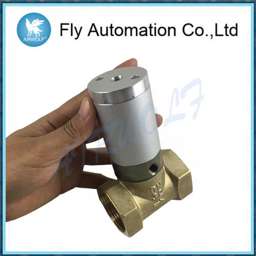 "Q22HD-32 1 1/4"" DN32  2/2 Way Pneumatic Tube Valve Air Control Valve Actuator Brass Valve"