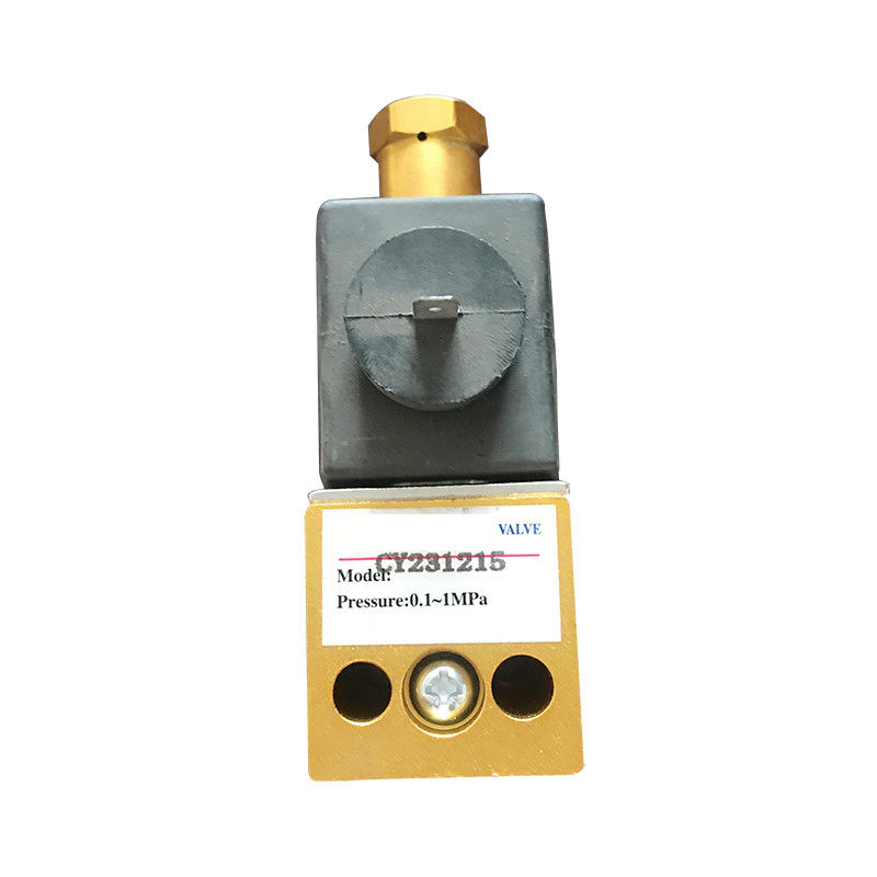 Pneumatic Valve CY231215 Aluminum Solenoid Valve For Military Vehicles