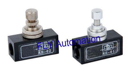 Standard Compressed Air Flow Control Valves RE-01,RE-02,RE-03,RE-04