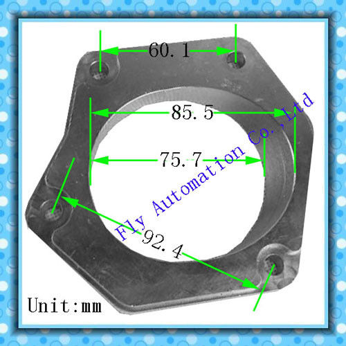 Bolt Aluminum Slotted Automotive Auto Parts Polygon Flange High temp